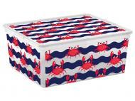 Ящик для зберігання KIS 241683 Cute Animals M 18 л 170x400x340 мм
