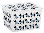Ящик для зберігання KIS 241693 Cute Animals Cube 27 л 250x340x400 мм
