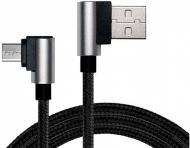 Кабель Real-el USB – microUSB 1 м чорний (USB 2.0 Premium AM-Micro USB 1)