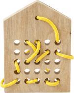 Шнуровка деревянная Babai Город детства 11 babai-lacehouse11