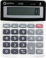 Калькулятор 8 розрядів 135x107x32 мм Optima