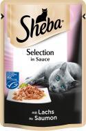 Корм Sheba Selection in Sauce з лососем у соусі 85 г