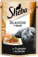 Корм Sheba Delikatesse in Gelee з індичкою в желе 85 г