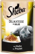 Корм Sheba Delikatesse in Gelee з куркою в желе 85 г