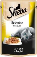Корм Sheba Selection in Sauce з куркою в соусі 85 г