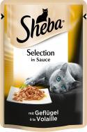 Корм Sheba Selection in Sauce з домашньою птицею в соусі 85 г