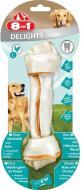 Ласощі 8in1 Кістка для чищення зубів Delights L 1 шт.