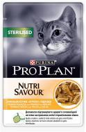Корм Pro Plan Sterilised Nutrisavour з куркою 85 г