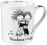 Чашка Муж и жена 450 мл 4004610 Enesco