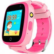 Смарт-часы GoGPSme K14 pink детские(K14PK)