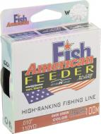 Волосінь  Winner Fish American Feeder 100м 0.22мм 7,4кг НС0002680