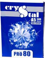 Папір офісний Crystal A5 80 г/м СRYSTAL PRO білий