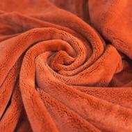 Покривало Мікрофібра 220x180 см помаранчевий