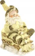 Декоративна фігура Дід Мороз з ялинкою 006100 20 см