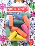 Набор гумок для олівців 20 шт Nota Bene