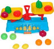 Ігровий набір Полісся Ваги з набором продуктів 53787
