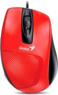 Миша Genius DX-150 USB (31010231101) red/black