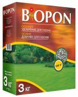 Добриво осіннє Biopon гранульоване для газона 3 кг