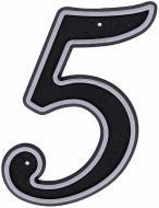 Цифра №5 пластикова LNP15 MS #5