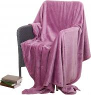 Плед Frannel Orchid Haze 220x200 см рожевий La Nuit