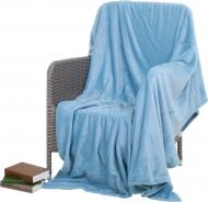 Плед Frannel 160x200 см блакитний La Nuit