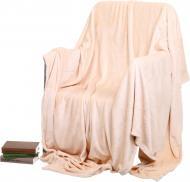 Плед Frannel Macadamia 160x200 см персиковый La Nuit
