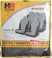 Набір чохлів для сидінь H&R Pass 10909 чорний