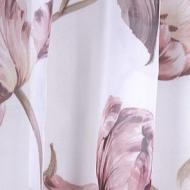 Тканина тюлева 280 см вуаль тюльпан бежевий