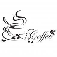 Декоративна наліпка Zatarga Чашка кави 2
