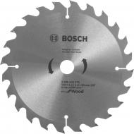 Пиляльний диск Bosch ECO WO 190x20x1,4 Z24 2608644375