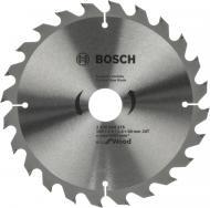 Пиляльний диск Bosch ECO WO 190x30x2.6 Z24 2608644376