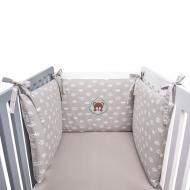 Бортик защитный в кроватку 42х198 см IDEIA бежевый 800013737