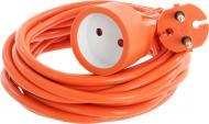 Подовжувач Expert без заземлення 1 гн. помаранчевий 5 м EXX-2x1,5-5m-OR
