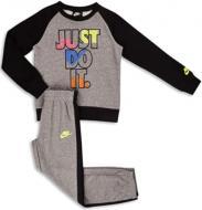 Комплект Nike джемпер+штаны JDIFLEECECREWSET 86G985-GEH р. 5 графит