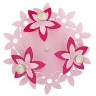Люстра стельова Nowodvorski Flowers Pink 3x35 Вт GU10 рожевий 6895
