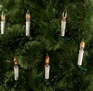 Гірлянда лінійна внутрішня 10 ламп 2,7 м Мерехтливі свічки IE12-04010