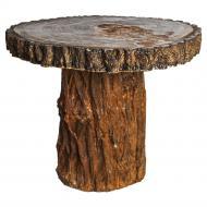 Стол Tavalo terracotta + copper 85x85 см терракот