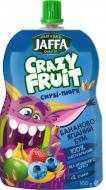 Пюре Jaffa Десерт фруктовый Crazy Fruit из бананов яблок черники и клубники перетертых со злаками 100 г