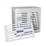 Ящик для хранения Woodville Стокгольм 60х60х30 см белый