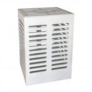 Ящик для хранения Woodville Стокгольм 40х60х30 см белый