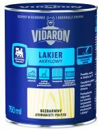 Лак акриловий для деревини Lakier Akrylowy Vidaron шовковистий глянець безбарвний 0,75 л