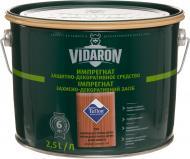 Пропитка (антисептик) Vidaron защитно-декоративный мат американское красное дерево 2,5 л