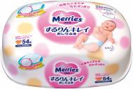 Дитячі вологі серветки Merries 54 шт.