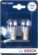 Лампа галогенна Bosch Pure Light P21W 12 В 21 Вт 2 шт