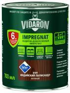 Импрегнат Vidaron Защитно-декоративный индийский палисандр V09 мат 0,7 л