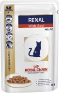 Корм Royal Canin V.D. для котів RENAL BEEF FELINE (Ренал віз Біф Фелін), пауч, 85 г