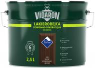 Лакобейц Vidaron защитно-декоративный черное бразильское дерево V11 глянец 2,5 л