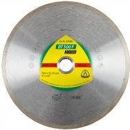 Диск алмазний відрізний Klingspor EXTRA DT300F 20025,4/30 230x22,2 кераміка, плитка, плитка