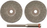 Диск алмазний відрізний FIT D хвостовика 3,1 мм 30плитка, метал 36931
