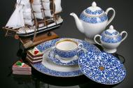 Сервіз чайний Марокко 21 предмет на 6 персон Fiora